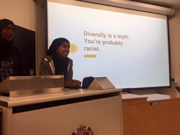 Diversity Racist